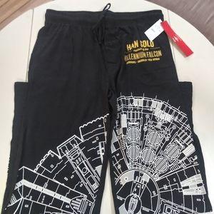 NWT Star Wars pajamas bottoms M